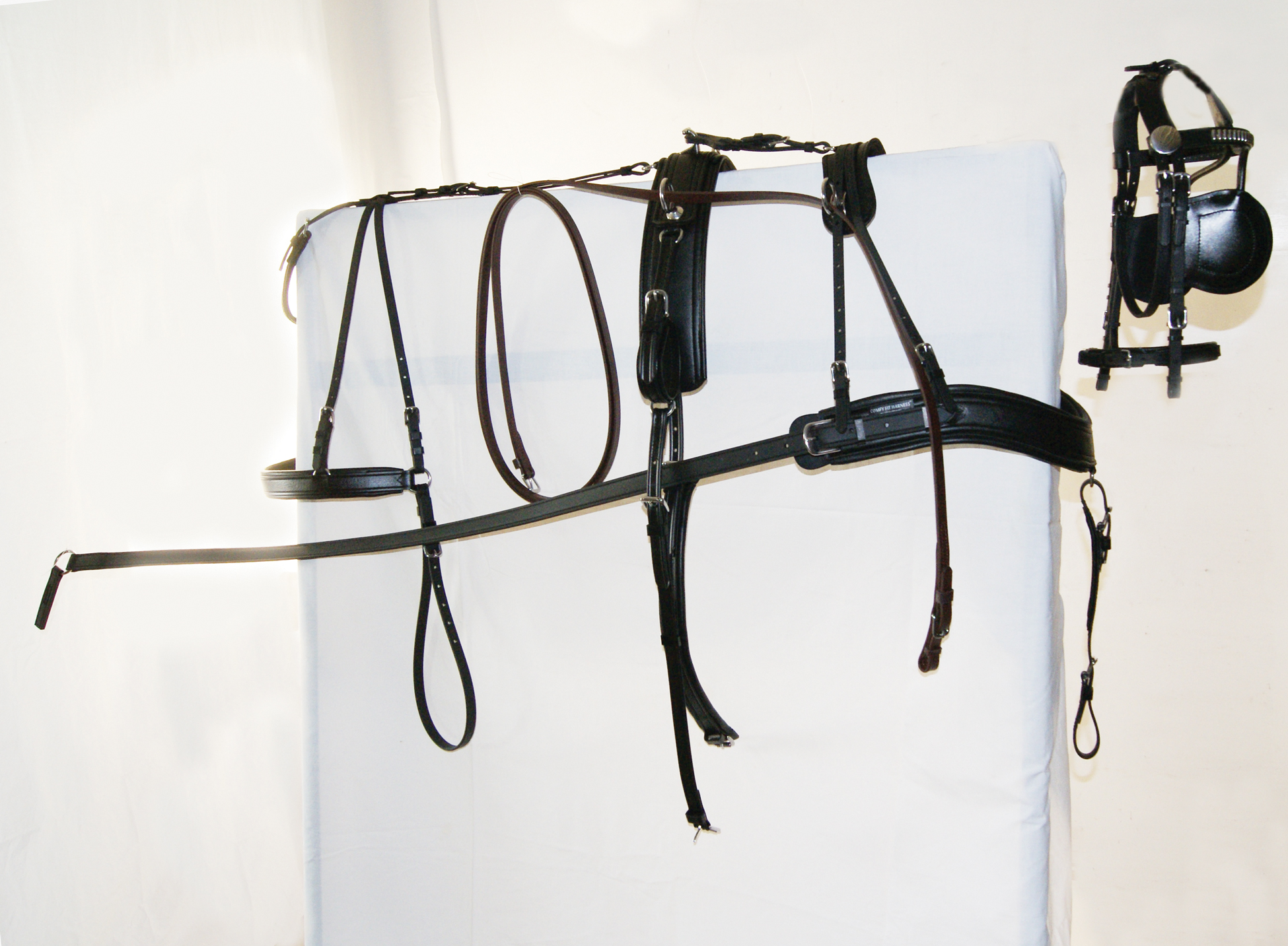Comfy Fit Carriage Harness-Cob/Horse/Oversize