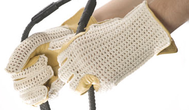 Crochet-back Glove by Signature-Leather -High Quality
