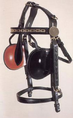Smucker's Deluxe Breastcollar Style Leather Harness