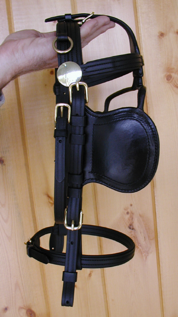 "Americana ""Comfort-Fit"" Single Padded Pony Harness"