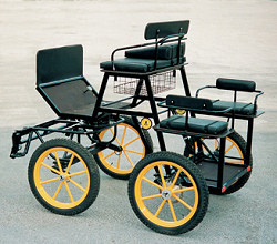 The Bellcrown DEBUT Carriage