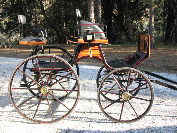 SOLD! Dressage Phaeton Used with Lamps