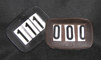 Number Holder for Harness or Bridle