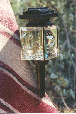 Square Carriage Lamp - Oil Burning