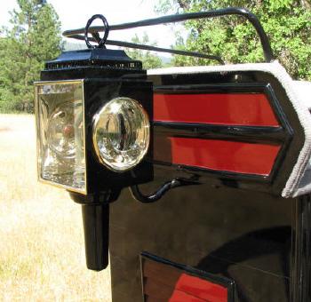 Cart Lamp - Oil Burning