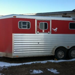 *SOLD* Used 2003 4 Star Two Horse Trailer