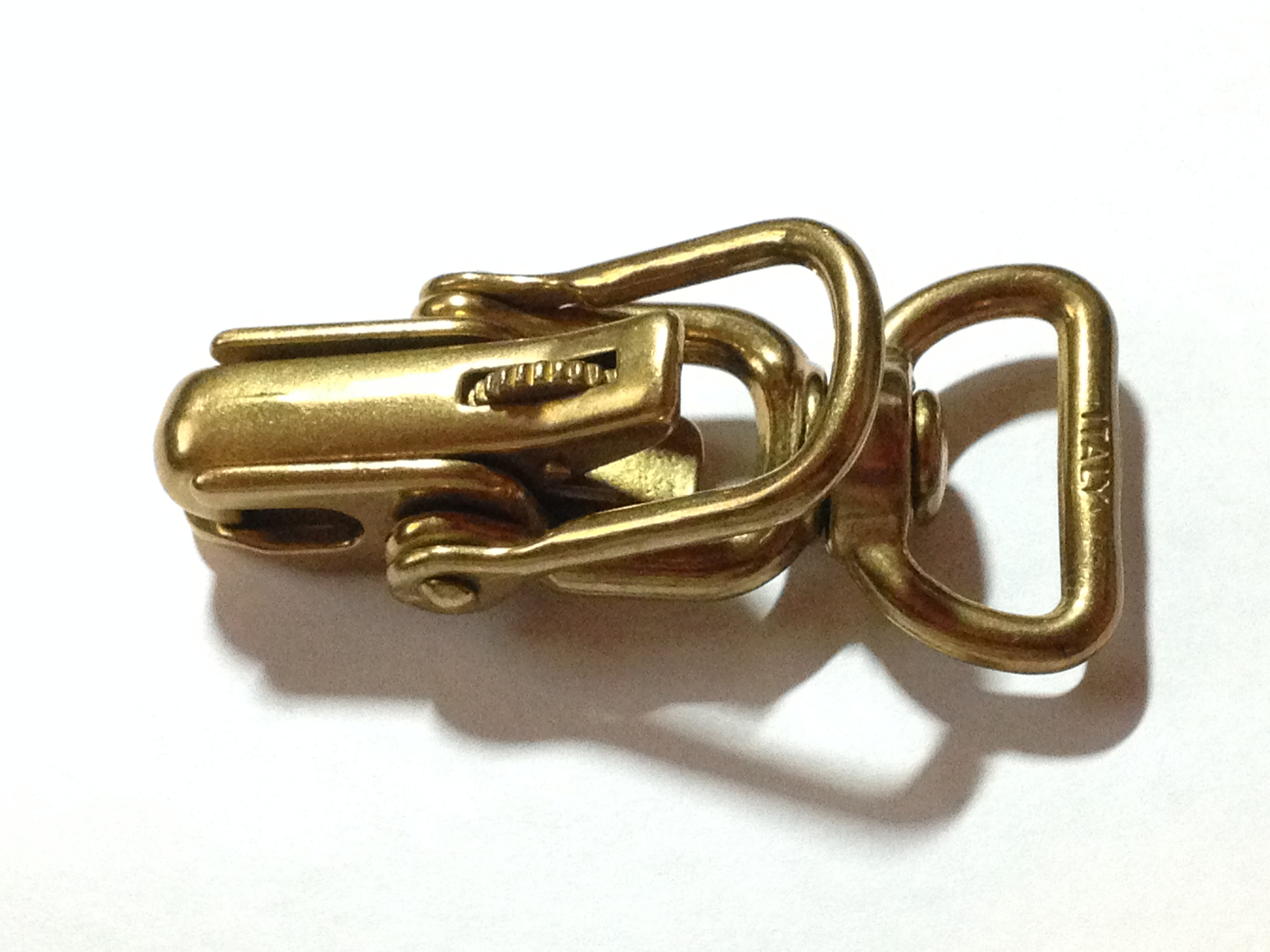 Lock Jaw Quick-Open Snap (Bronze)